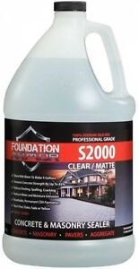 Concrete Sealer Hardener And Densifier 1 Gal Concentrated Sodium Silicate