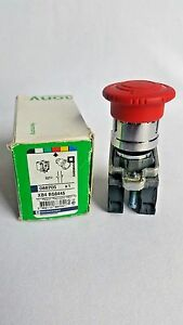 Schneider Electric Emergency Stop Push Button red Xb4 Bs8445