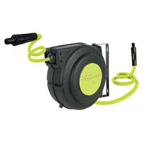 Legacy L8250fz Flexzilla 3 8 X 50 Retractable Air Hose Reel 150psi