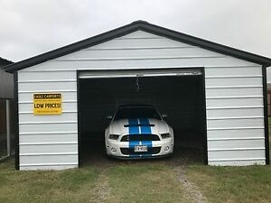 18x21x7 All steel Garage Serving Most States Free Del Install prices Vary