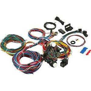 21 Circuit Wiring Harness Fit Chevy Universal Fit Mopar Extra Wires