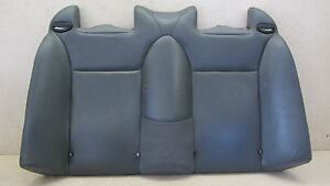 04 10 Saab 9 3 93 Convertible Upper Rear Seat Leather 101415