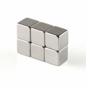 N50 Strong Square Cube Block Neodymium Magnets Ndfeb 2mm 8mm 10mm 12mm Wholesale