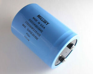 Mallory 150000uf 15v Large Can Electrolytic Capacitor Cgs154u015x4c