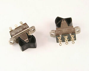 10x Stackpole Switch Rocker Miniature Mr dpdt 1a