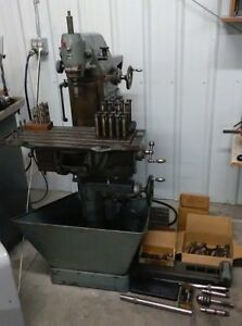 Deckel Fp1 Vertical Horizontal Universal Milling Machine W Various Accesories