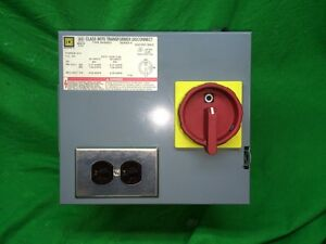 Square D Transformer Disconnect Cat sk500g1