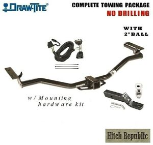 Class 3 Trailer Hitch Package W 2 Ball For 2011 2018 Ford Explorer 76034