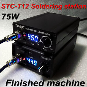 2019 Quick Heating T12 Stc Digital Soldering Station Electronic Welding Iron