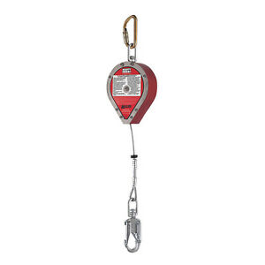 New Miller By Honeywell Rl20ss 20ft Self retracting Lifeline 20ft Ss Red