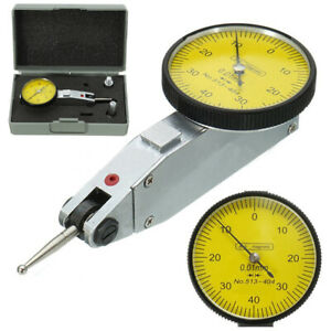 Professional Lever Dial Test Indicator Meter Tool Kit Precision 0 01mm Gage