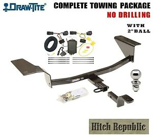 Fits 2011 2015 Chevy Cruze Class 1 Trailer Hitch Package W 2 Ball 248820