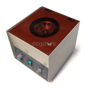Electric Lab Medical Practice Desktop Centrifuge Machine 110v 80 2 4000rpm New