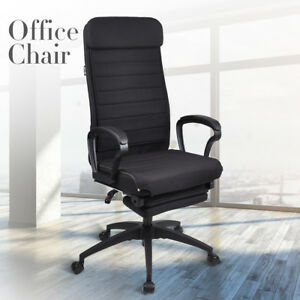 High Back Executive Office Chair Ergonomic Computer Desk Task Chair Recliner
