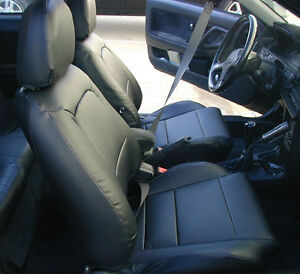 Acura Integra 1990 2001 Iggee S leather Custom Fit Seat Cover 13colors Available