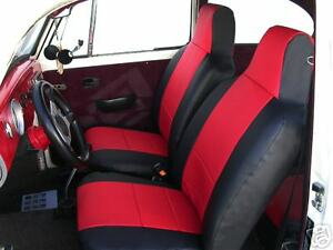 Vw Beetle 1959 2011 Iggee S leather Custom Fit Seat Cover 13 Colors Available