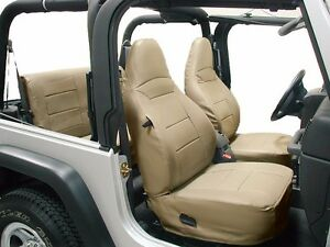 Jeep Wrangler Tj Sahara 1997 2002 Beige Iggee S leather Seat Cover