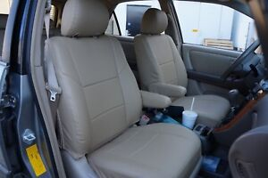 Lexus Rx300 1999 2003 Iggee S leather Custom Fit Seat Cover 13 Colors Available