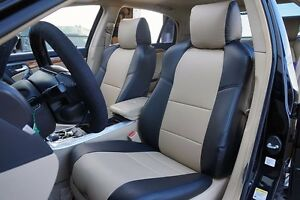 Acura Tl 2004 2008 Iggee S Leather Custom Fit Seat Covers 13 Colors Available