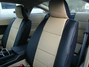 Ford Mustang 2005 2012 Iggee S Leather Custom Fit Seat Cover 13colors Available