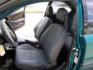 Honda Civic 1992 1996 Iggee S leather Custom Fit Seat Cover 13colors Available