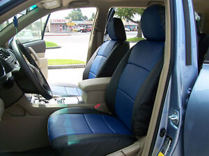 Toyota Highlander 2001 2007 Iggee S Leather Custom Fit Seat Cover 13colors