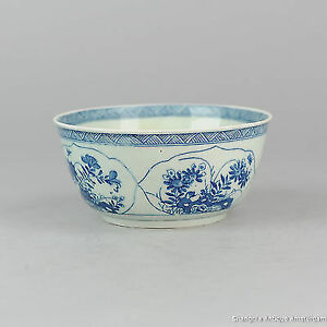 Antique Ca 1900 Blue And White Mosa Plate Bowl Netherlands In Kangxi Style