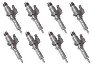 2001 2004 5 Duramax Lb7 Injectors Full Set Refurbished