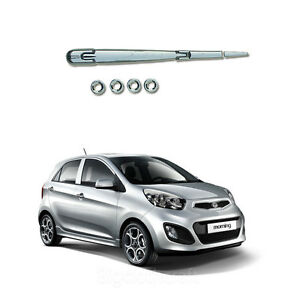 New Chrome Rear Exterior Molding Kit Set B737 For Kia Picanto 2011 2012