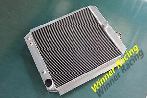 56mm Radiator For Chevy Gmc 3100 3600 3800 1 2t 1t Truck Pickup 1948 1954 V8 At