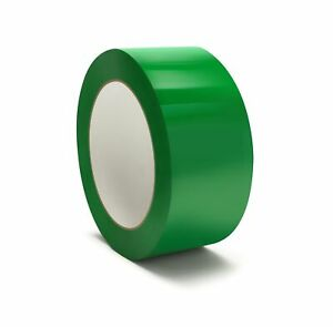 216 Rolls Packaging Packing Tape 2 X 110 Yds Carton Sealing Tapes Green Color