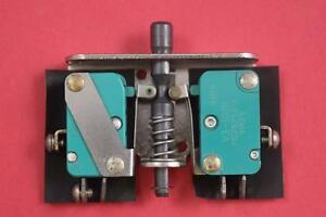 Honeywell Micro Switch Ms16106 2 Double Push Button Momentary Switch
