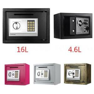 Electronic Safety Box Security Home Office Digital Lock Jewelry Safe Money J5h9