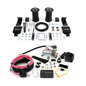 Air Lift Control Air Spring Wireless Air Compressor Kit For 1995 2004 Tacoma