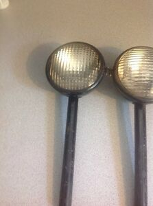 Vintage Pair Guide Tractor Lights Lens 924210