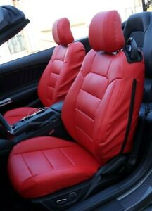 Ford Mustang 2015 2020 Iggee S Leather Custom Made Fit Seat Covers 13 Colors