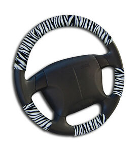 Universal One Size Auto Car Steering Wheel Cover Zebra Sw1104