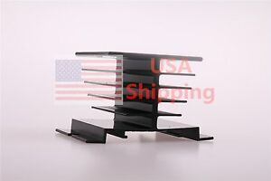 1pcs Aluminum Heat Sink For Solid State Relay Ssr Heat Dissipation 10a 40a