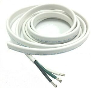 10 3 Awg Gauge Marine Grade Wire Ac Boat Cable Tinned Copper Flat Tiplex