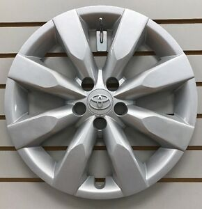 2014 2016 Toyota Corolla 16 8 spoke Hubcap Wheelcover Factory Original