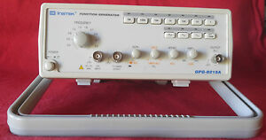 Gw Instek Gfg 8215a Function Generator In Very Good Condition