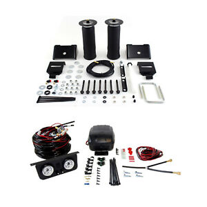 Air Lift Suspension Air Bag Dual Path Leveling Kit For Dodge Ram 1500 4wd Rwd
