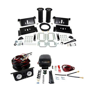 Air Lift Suspension Air Bag Dual Path Leveling Kit For Ford F 250 Super Duty