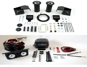 Air Lift Suspension Air Bag Dual Path Leveling Kit For Silverado 1500 Rwd 4wd