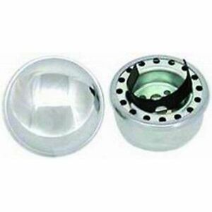 Racing Power Company R4802 2 3 8 Chrome Steel Push In Oil Filler Breather Cap