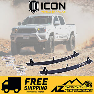 Icon 1 5 Lift Rear Add A Leaf Kit Expansion Pack Fits 96 19 Toyota Tacoma 51100