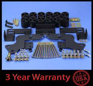 2002 2006 Chevy Avalanche 1500 3 Full Body Lift Kit Front Rear steering