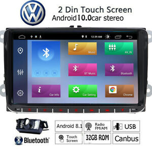 Android8 1 Radio Car Stereo No dvd Player Gps Navigation For Volkswagen Vw Eos