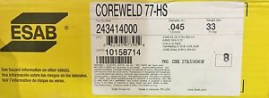 045 Esab Coreweld 77 hs Metal Core Wire