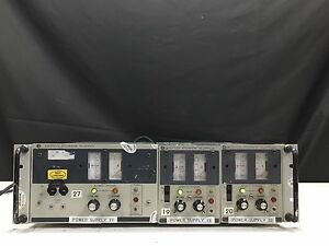 Kepco Ate 75 3m 0 75v 0 3a Power Supply With 2x Ate 75 1 5m 0 75 Vdc 0 1 5 A